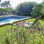 Ferienhaus Mallorca MA2050 Garten mit Pool