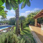 Ferienhaus Mallorca MA2050 Garten mit Pool (2)
