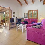 Ferienhaus Mallorca MA2050 Wohnbereich