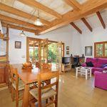Ferienhaus Mallorca MA2050 offene Küche mit Esstisch