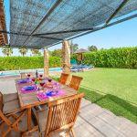 Ferienhaus Mallorca MA3162 Esstisch auf der Terrasse