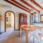 Ferienhaus Mallorca MA3162 Esstisch in der Küche