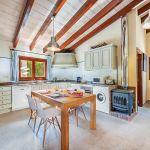Ferienhaus Mallorca MA3162 Küche mit Tisch