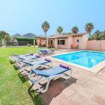 Ferienhaus Mallorca MA3162 Sonnenliegen am Pool