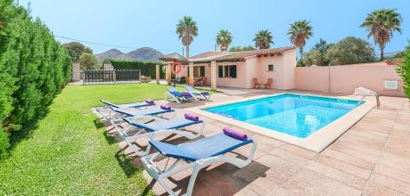 Mallorca Nordküste – Ferienhaus Alcudia 3162 mit Pool für 6 Personen, Strand = 1 km. An- und Abreisetag Samstag, in der Nebensaison flexibel auf Anfrage. 2019 buchbar.
