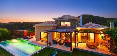 Villa Algarve mit Pool Tavira 33346 für 6 Personen mit herrlichem Panoramablick. An- und Abreisetag Samstag.
