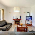 Ferienhaus Algarve ALS3002 Wohnbereich mit TV