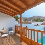 Ferienhaus Gran Canaria GC1247 Balkon mit Blick auf den Pool