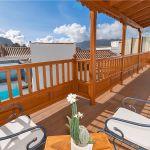 Ferienhaus Gran Canaria GC1247 Balkon mit Gartenmöbel