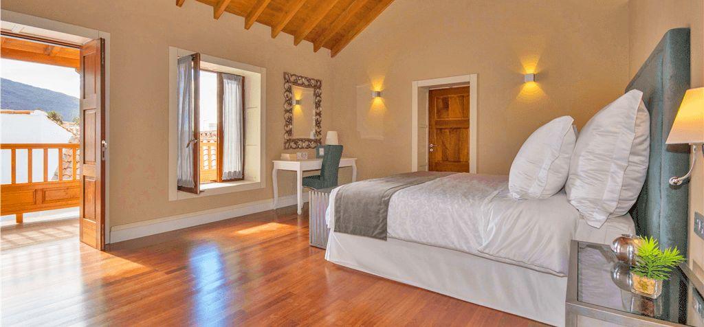 Ferienhaus Gran Canaria GC1247 Doppelbett im Schlafraum