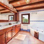 Ferienhaus Mallorca MA5325 Bad mit Wanne