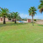 Ferienhaus Mallorca MA5325 Garten mit Palmen