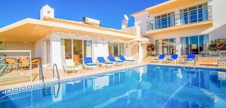 Villa Algarve Vale de Parra 4066 mit privatem Pool und Internet für 8 Personen. An- und Abreisetag Samstag, Nebensaison flexibel auf Anfrage – Mindestmietzeit 1 Woche. 2018 buchbar.