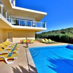 Villa Algarve ALS4069 Terrasse am Pool