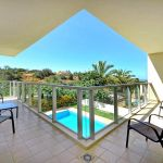 Villa Algarve ALS4071 Balkon mit Blick auf den Pool