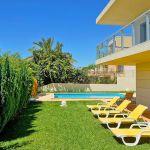 Villa Algarve ALS4071 Garten mit Liegen