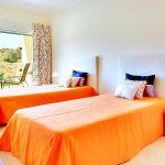Villa Algarve ALS4071 Schlafraum mit 2 Betten
