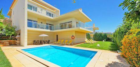 Villa Algarve Vale de Parra 4071 mit Pool und Internet für 8 Personen. An- und Abreisetag Samstag, Nebensaison flexibel auf Anfrage.