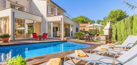 Mallorca Nordküste – Villa Bonaire 43477 mit privatem Pool in Strandnähe (ca. 600m). An- und Abreisetag Samstag. 2018 buchbar.