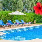 Ferienhaus Mallorca MA2024 Pool mit Sonnenliegen
