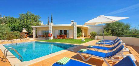 Ferienhaus Algarve Vale de Parra 3004 mit Pool für 6 Personen. An- und Abreisetage Dienstag und Samstag – Nebensaison flexibel.