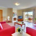 Ferienhaus Algarve ALS3004 Wohnraum mit TV