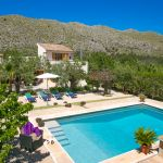 Finca Mallorca MA23487 Blick auf den Pool