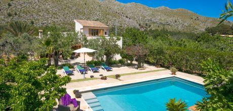 Mallorca Nordküste – Finca Pollensa 23487 mit Pool und Internet für 4 Personen. Strand = 4km. An- und Abreisetag Samstag. – 2018 jetzt buchen!