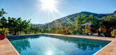 Mallorca Nordküste – Finca Pollensa 23487 mit Pool und Internet für 4 Personen. Strand = 4km. An- und Abreisetag Samstag. 2019 buchbar.