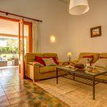 Finca Mallorca MA23487 Sitzecke im Wohnraum