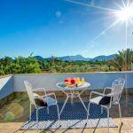 Finca Mallorca MA23487 Terrasse mit Gartenmöbel