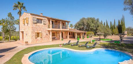 Mallorca Südostküste – Finca Felanitx 43484 mit Pool und Internet für 8 Personen mieten. An- und Abreisetag Samstag. SONDERPREISE JUNI!