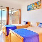 Villa Algarve ALS4068 Schlafraum mit 2 Betten