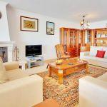 Villa Algarve ALS4068 Sitzecke mit Kamin und TV