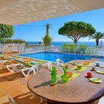 Villa Algarve ALS4068 Terrasse mit Meerblick