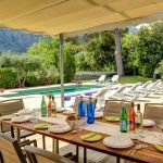Finca Mallorca MA53473 überdachte Terrasse