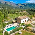 Finca Mallorca MA53473 Blick auf das Haus mit Pool