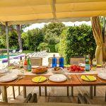 Finca Mallorca MA53473 Esstisch auf der Terrasse