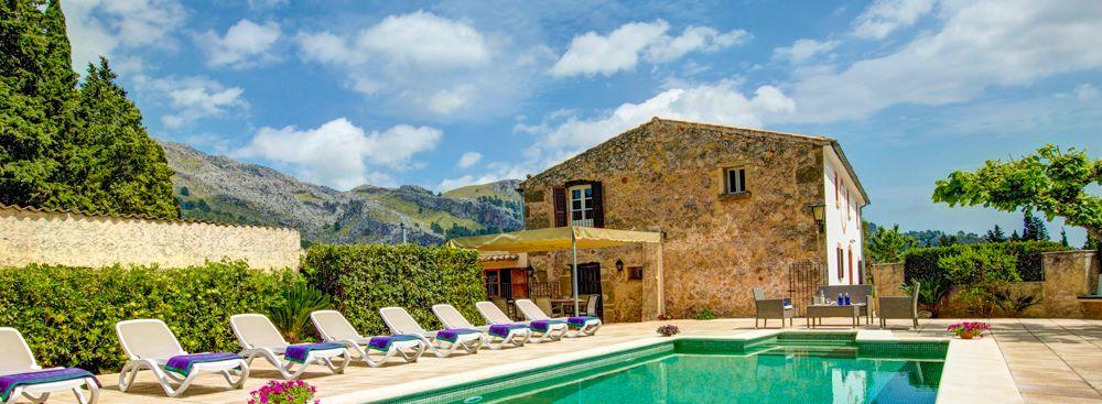 Finca Mallorca MA53473 Sonnenliegen am Pool
