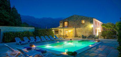 Mallorca Nordküste – Finca Pollensa 53473 mit beheizbarem Pool für 10 Personen. An- und Abreisetag Samstag!