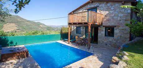 Ferienhaus Kreta Patelari 23476 mit solarbeheizbarem Pool für 4 Personen. An- und Abreisetag Dienstag.
