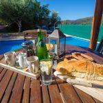 Ferienhaus Kreta KV23476 Esstisch am Pool