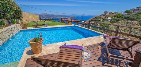 Ferienhaus Kreta Megala Chorafia 33272 mit Pool und Meerblick für 6 Personen. An- und Abreisetag Dienstag!