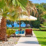 Villa Kreta KV22305 Garten mit Palmen