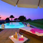 Villa Kreta KV22305 Poolbeleuchtung