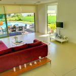 Villa Kreta KV22305 Sitzecke mit TV
