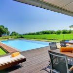 Villa Kreta KV22305 Terrasse mit Blick auf den Pool