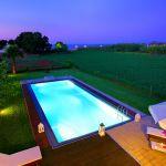 Villa Kreta KV22305 mit beleuchtetem Pool
