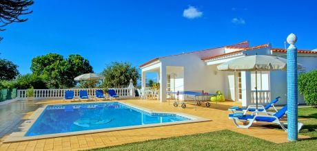 Ferienhaus Algarve Vale de Parra 3011 mit privatem Pool für 6 Personen. An- und Abreisetag Samstag – Nebensaison flexibel auf Anfrage gegen Aufpreis, Mindestmietzeit 1 Woche.