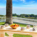 Ferienhaus Algarve ALS3012- Garten mit Meerblick